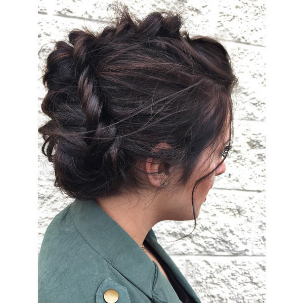 Wedding Hairstyle Nashville: Casual Updo Hairstyle By Aveda Institute Nashville Student