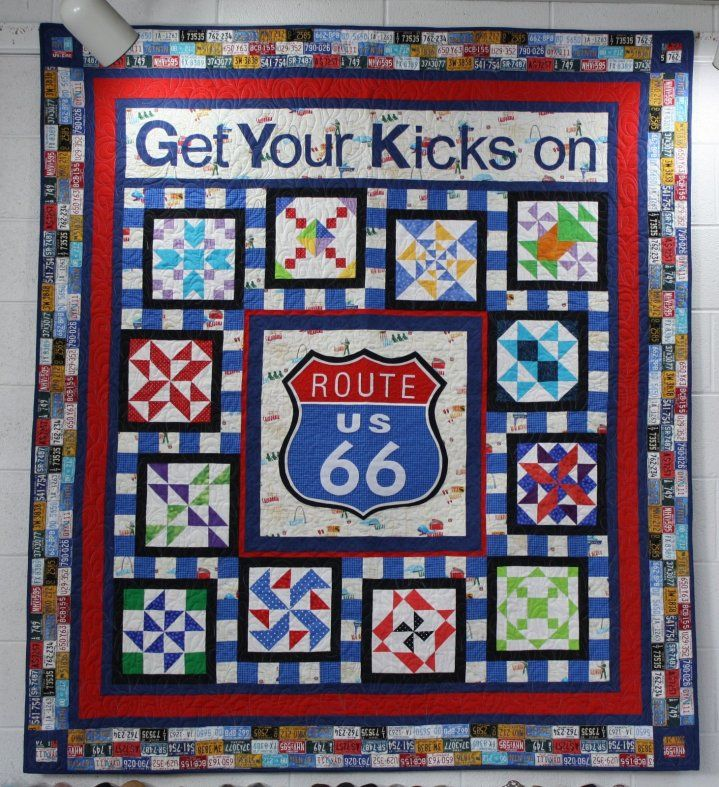 Pin On Route 66 Quilts