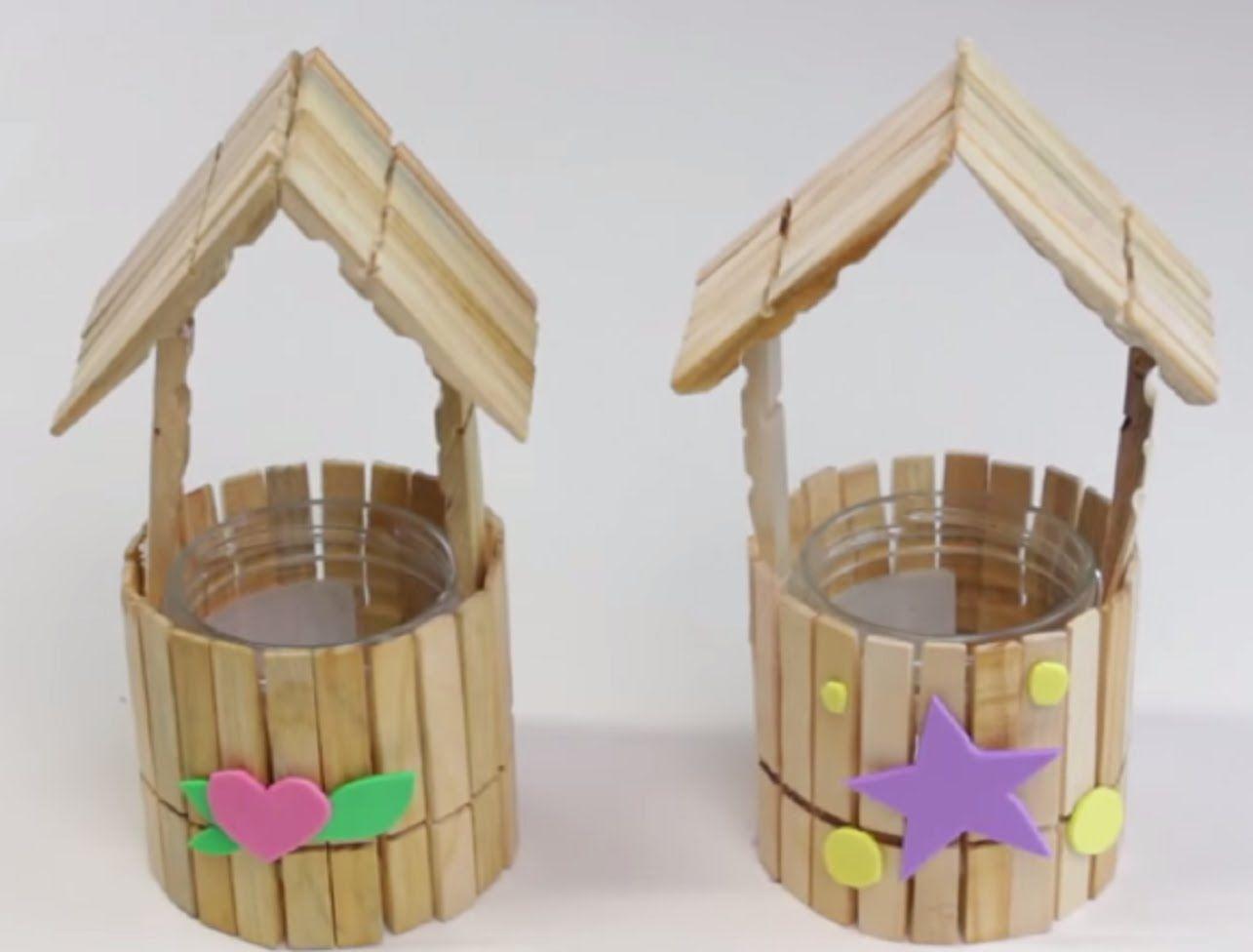 cmo hacer casita con pinzas de madera