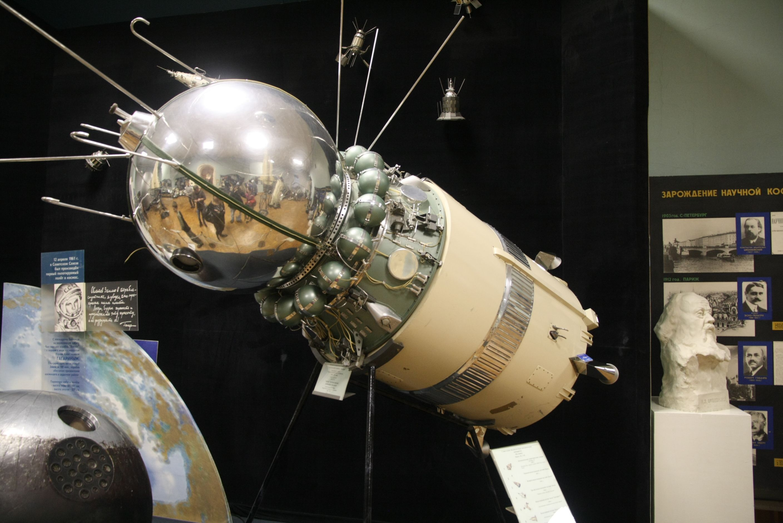 оформленный космический корабль восход фото насколько