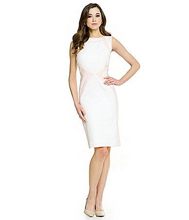 9e20fae8d9d5 Antonio Melani Ria Double Face Sheath Dress #Dillards. Find this Pin and  more on The Little White ...