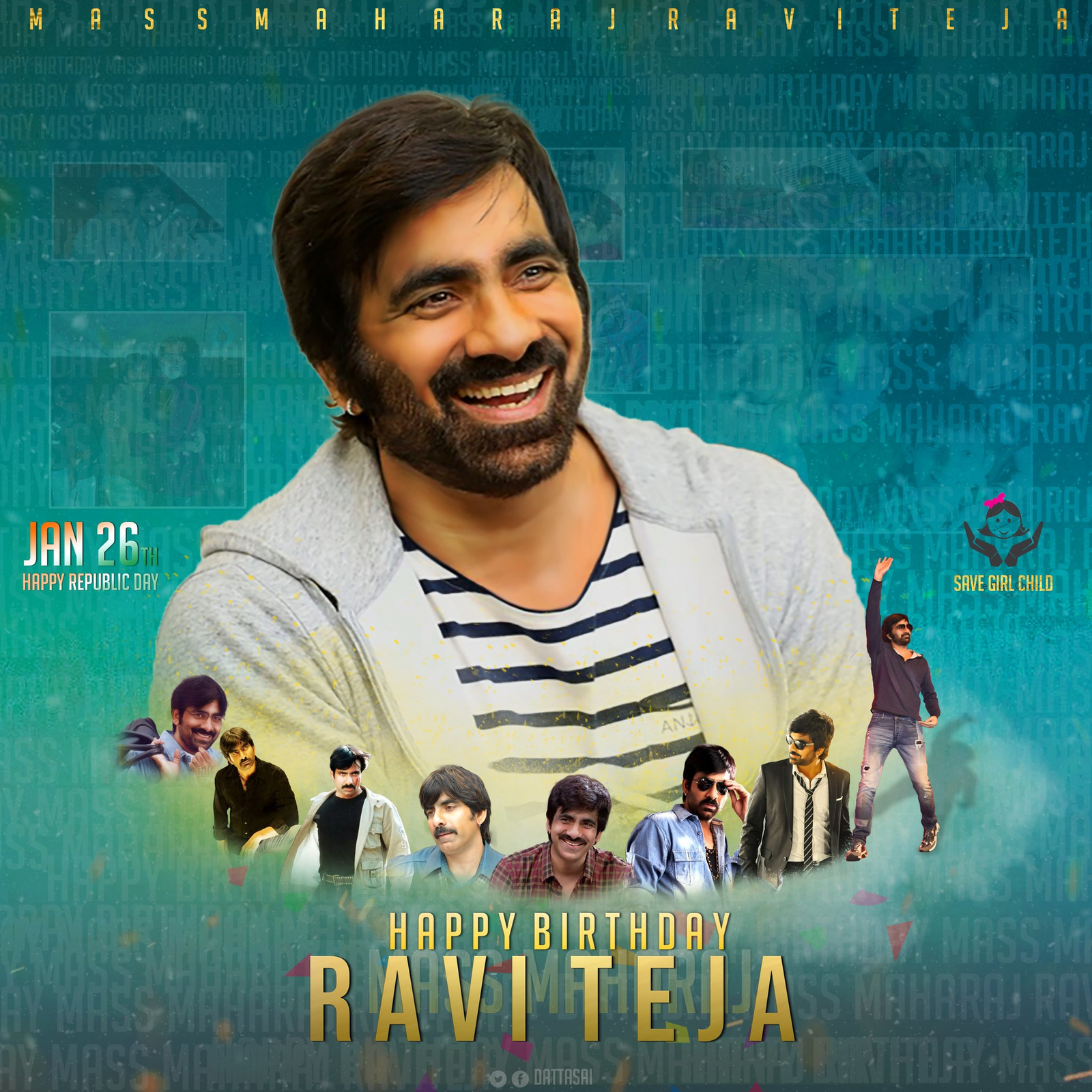 Ravi Teja Birthday Common Dp Social News Xyz Ravi Teja Movies Movie Posters