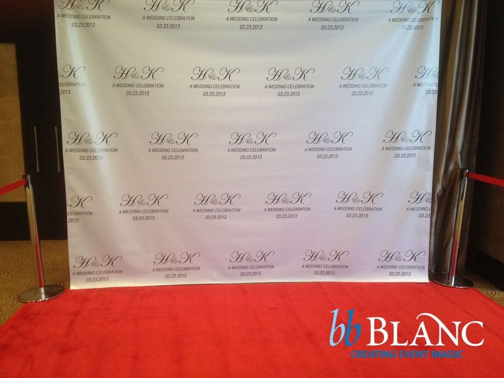If you have ever seen a celebrity give a red carpet interview, you will have likely seen a step and repeat backdrop being used. These are those poster walls of repeating logos and company names that often appear as backdrops during red carpet