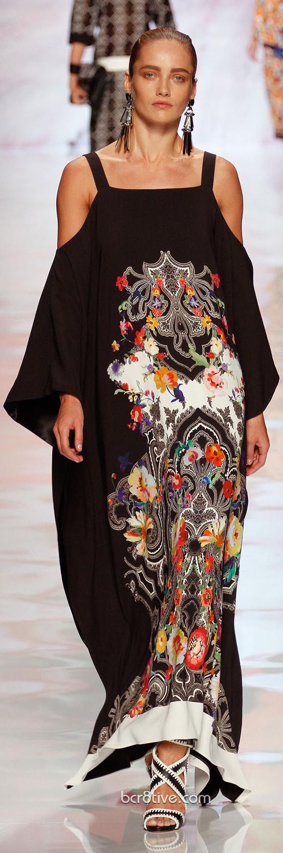 ETRO Spring Summer 2013 - I like the fabric but not the dress silhouette