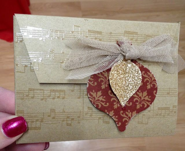 Stamp 4 fun with Selene Kempton: gift card or money holder