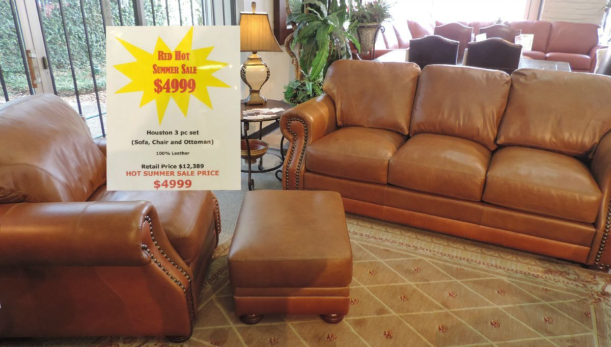 Sofa For Sale Houston 100 Leather Sofa Chair And Ottoman By Houston Unique Basket