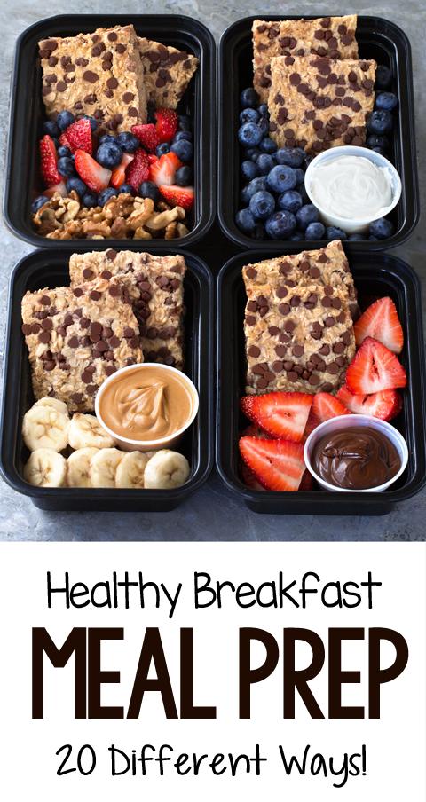 Meal Prep Breakfast Recipes Healthy Healthy Breakfast Meal Prep Breakfast Meal Prep Picky Eater Recipes