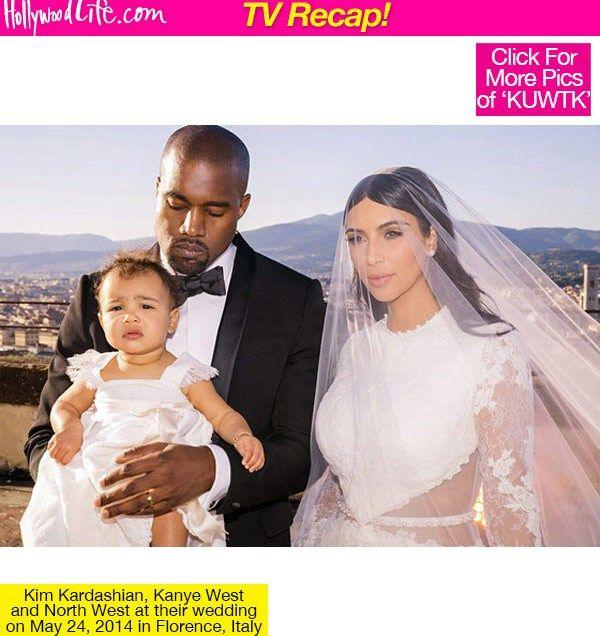 Kanye West with Kim Kardashian Wedding