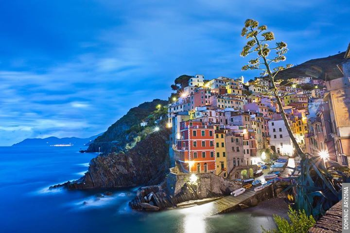 ~ Riomaggiore ~ Travel to the Cinque Terre on a Rick Steves Best of Italy in 17 Days Tour. On Day 9, we journey to Italy's enchanting Cinque Terre fishing villages, laced together with hiking paths that meander between vineyards and the deep blue sea. ( Photo: @DominicArizona )