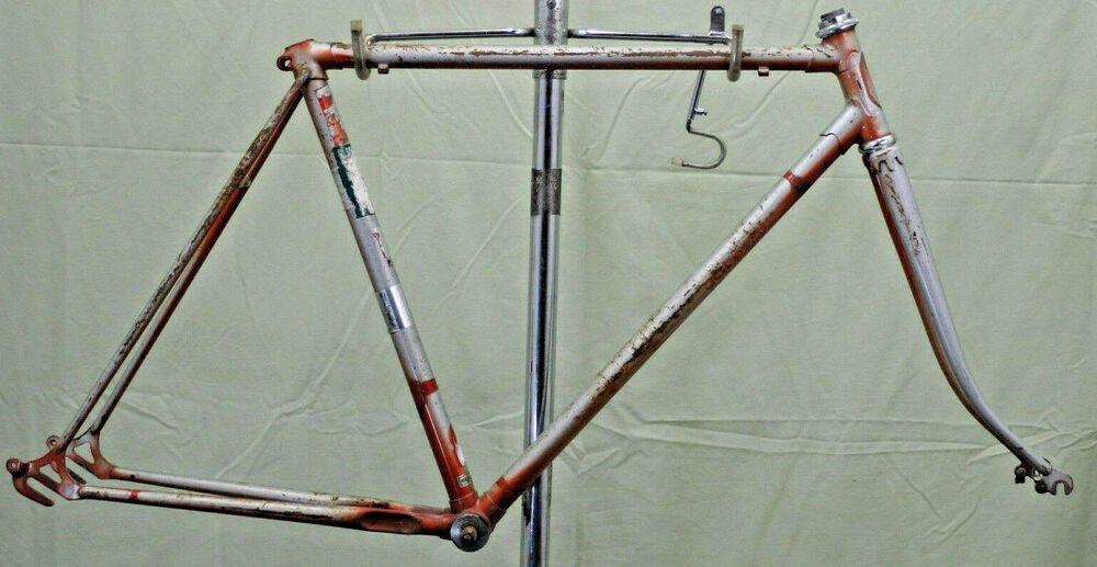 Japanese Vintage Touring Road Bike Frame M 56cm 700c Steel Classic Japan Charity Unbranded Bike Frame Road Bike Vintage Schwinn Vintage