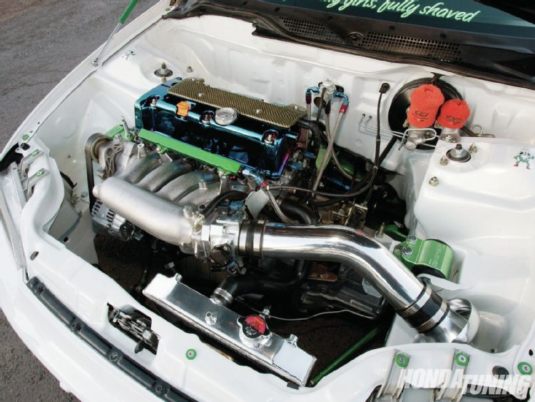 1994 Honda Civic Cx Hatch Tucked Engine Bay
