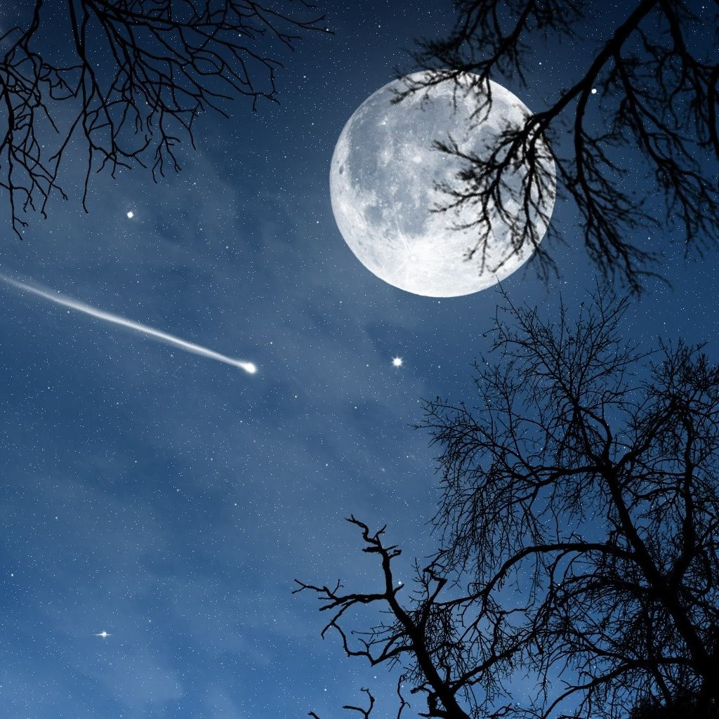Night Ipad Wallpaper The Beautiful And Peaceful Moon Night