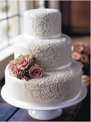 Vintage Style Ideas For Wedding Cakes And Wedding Accessories Classic Wedding Cake Cake Lace Lace Wedding Cake