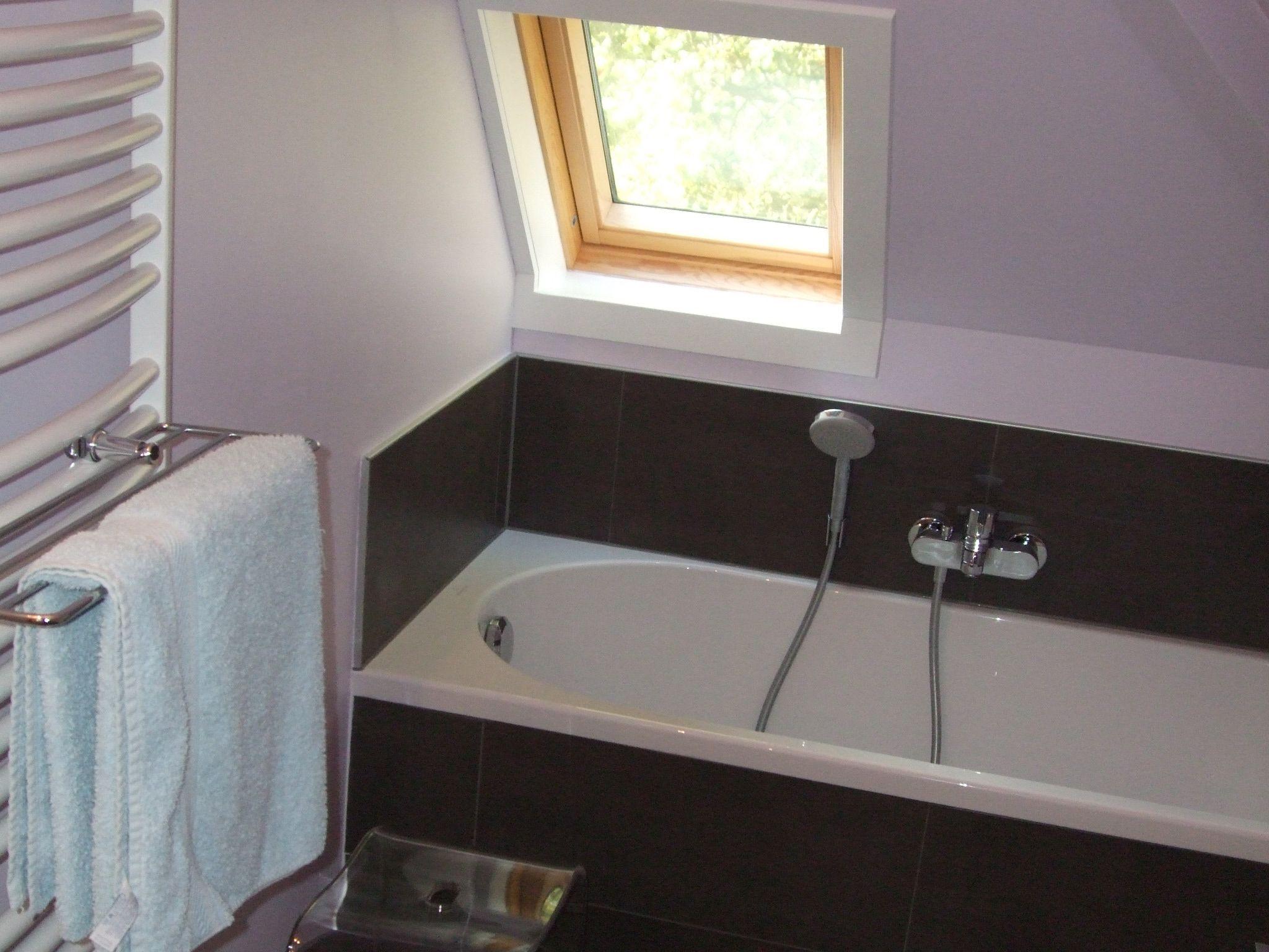bad onder schuin dak bad villeroy boch o novo bad pinterest. Black Bedroom Furniture Sets. Home Design Ideas