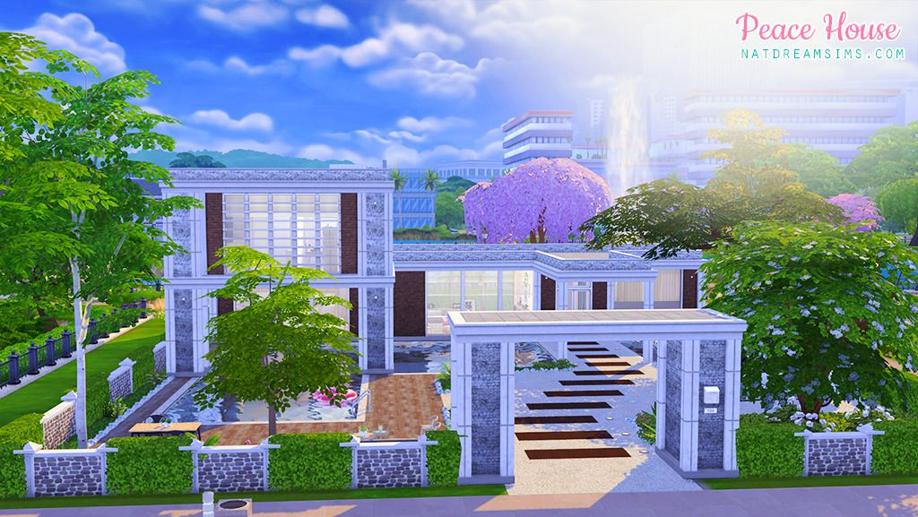 Peace House ♥ ~ The Sims 4 Download Lot here  | Sims 3