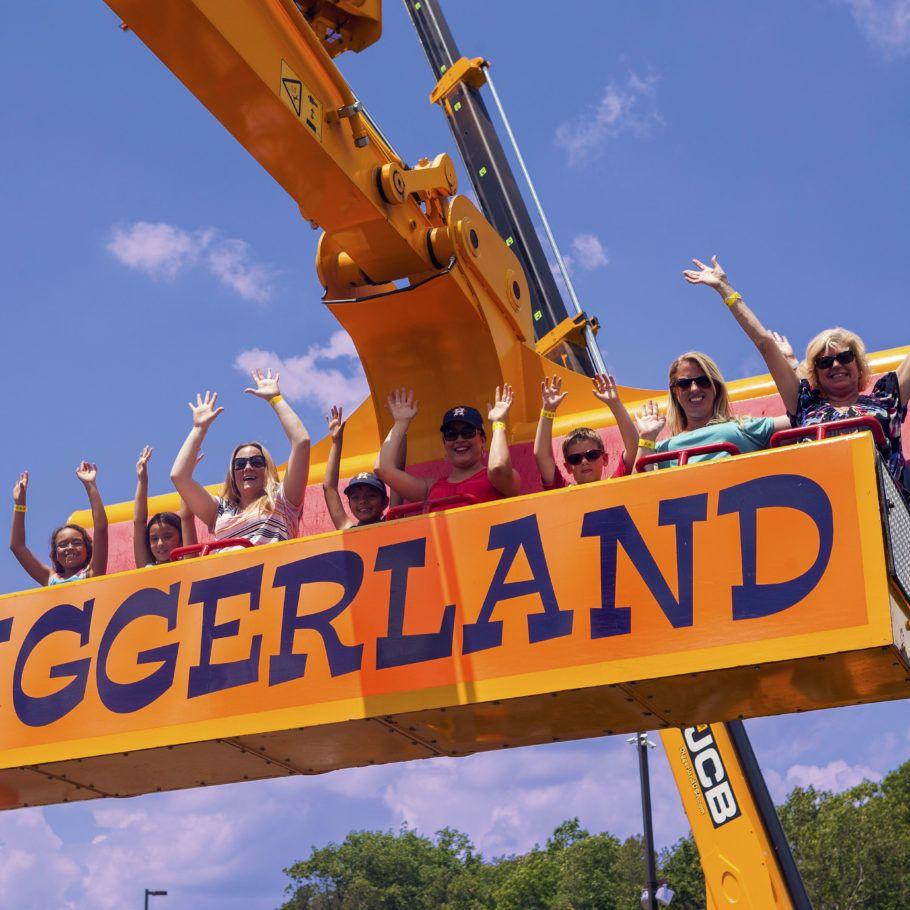 Diggerland Sky Shuttle Water park, Amusement park, West