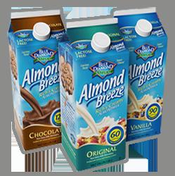1 Off Blue Diamond Almond Breeze Almond Milk Coupon On Http Hunt4freebies Com Coupons Blue Diamond Almonds Almond Breeze Blue Diamond Almond Breeze