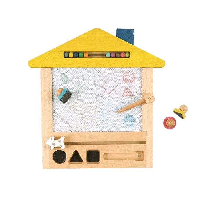 Wooden Doodle Board And Extra Goodies Educational Toys Toys Magic House