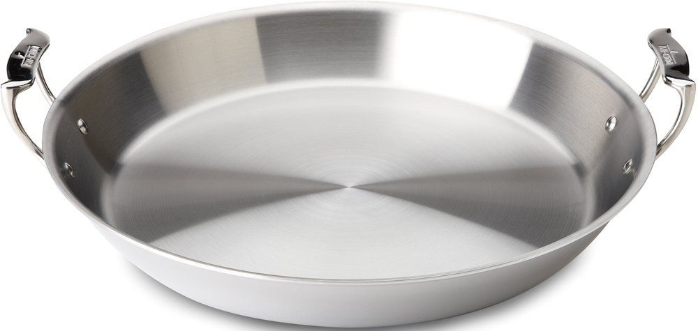 All Clad 4416 Stainless Steel Tri Ply Bonded Dishwasher Safe Paella Pan Cookware Silver Read More Reviews Of The Pr Paella Pan Specialty Cookware Cookware