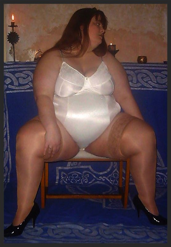 Bbw In Lingerie I Like This And All Like Her  Bra -7203