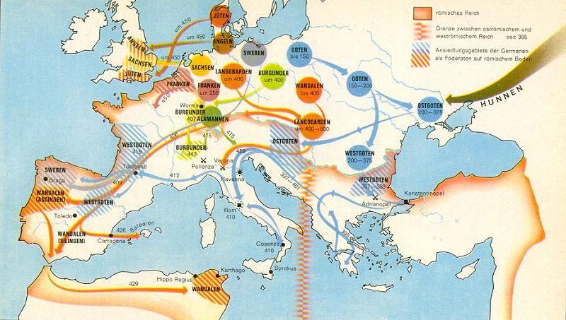 Bildergebnis Fur Germanische Stamme Karte Karten Geschichte Bilder