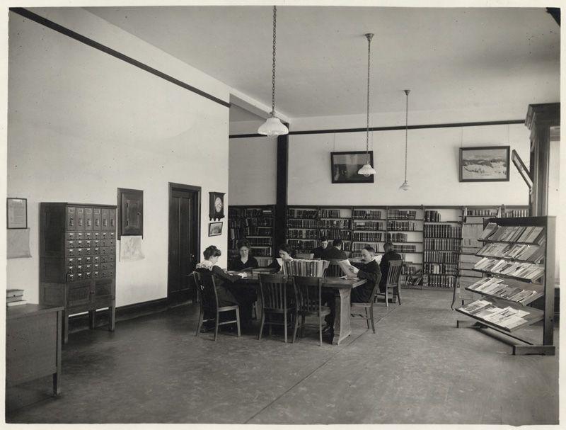 Headquarters Merced County Free Library Merced City Library March 1915 City Library Merced County Merced