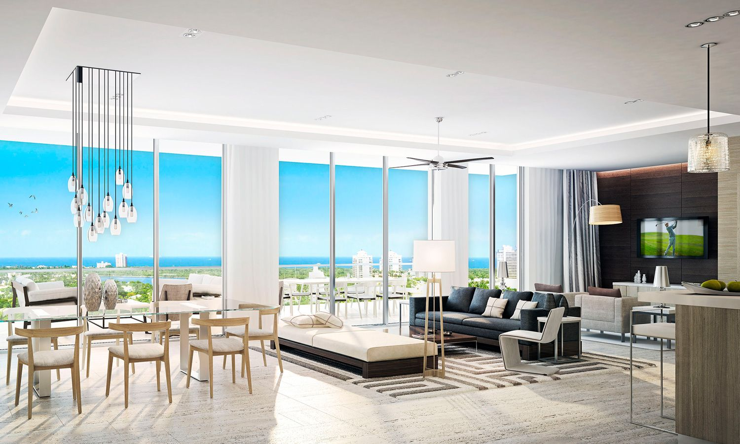 RIVA residences are large. Two bedrooms begin over 1,500 Sq. Ft. and ...