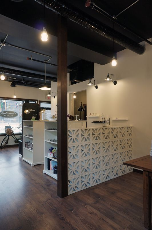 Canmore Family Eyecare By Hatch Interior Design Office Interior