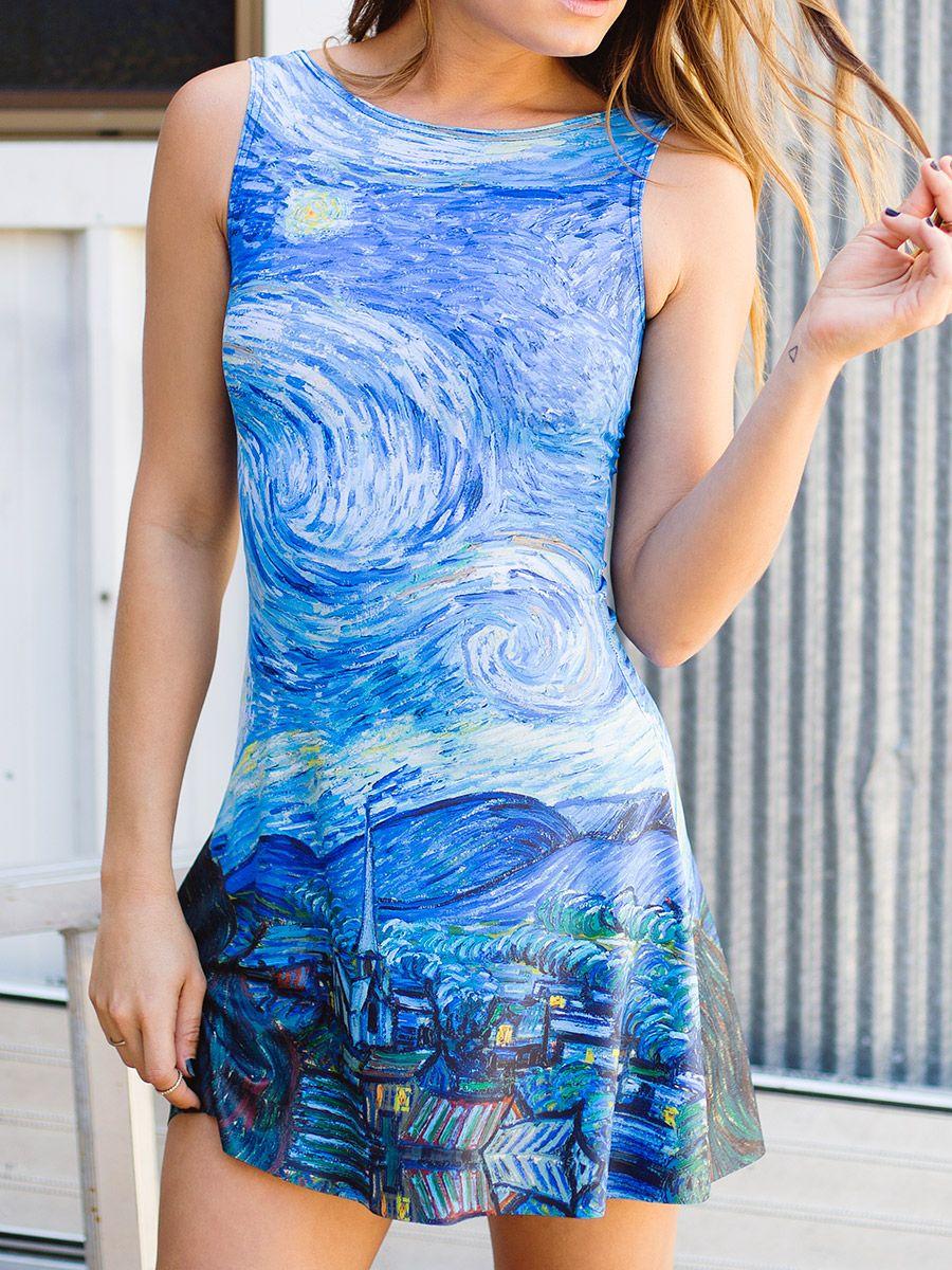 Starry Night Play Dress Limited Black Milk Clothing