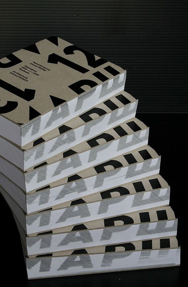 Yearbook Architectural School MARCH 2012–2013 on Behance