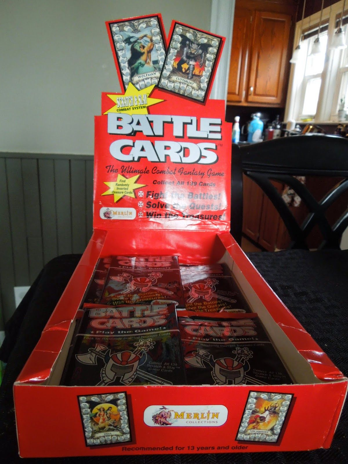 Fighting Fantasy Battle Cards by Merlin Collections