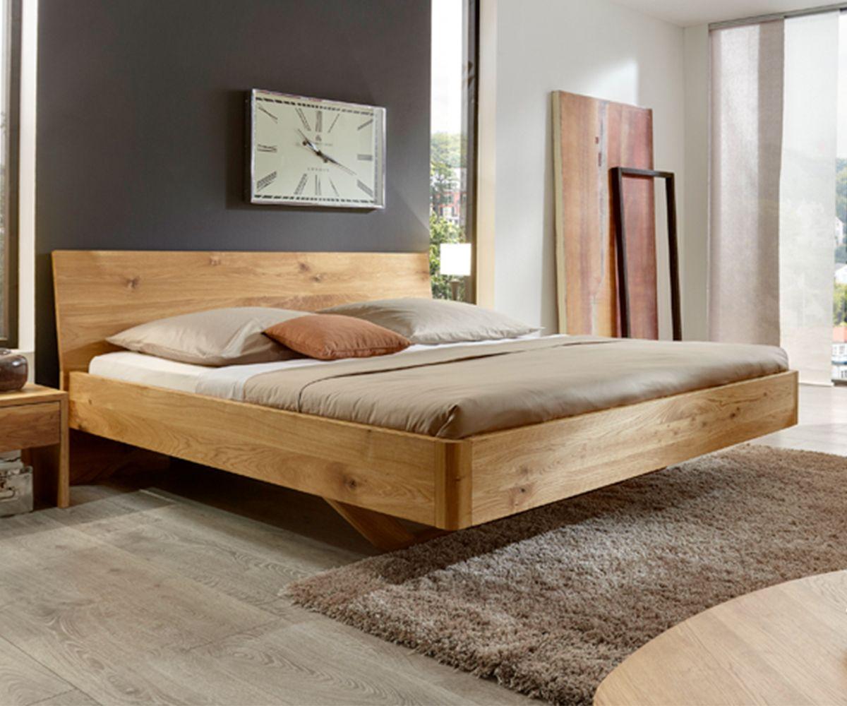 Hochwertiges Bett Aus Robuster Eiche Bett Vita Holzbett