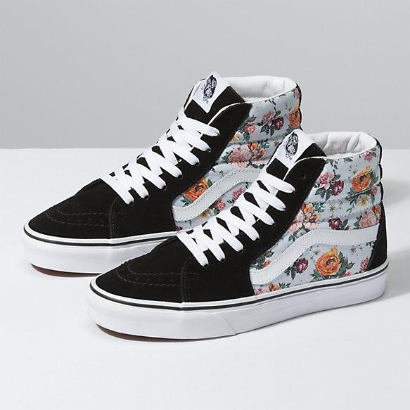 Sk8 | Hightop | Vans | Sneakers | Women (With images) | Cute