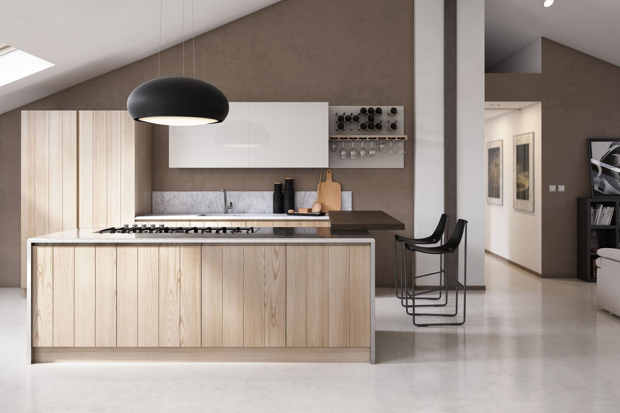 NEWS Aurora Cucine DOGU wood MEDINA INTERIOR | Medina Interior ...