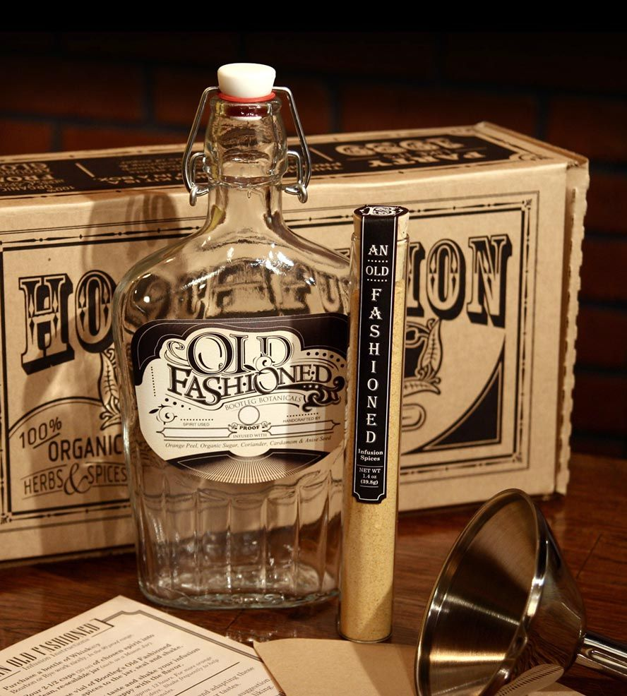 Old Fashioned Whiskey Infusion Kit Create a little