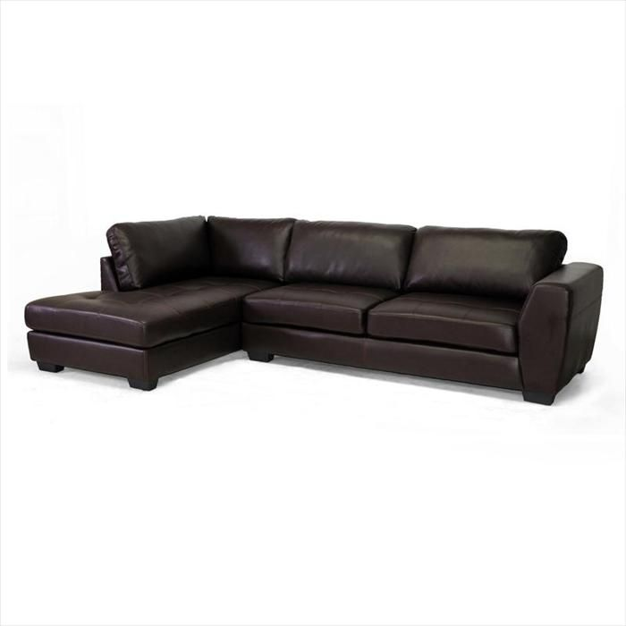 Nebraska Furniture Mart – Baxton Studio Contemporary Brown Leather