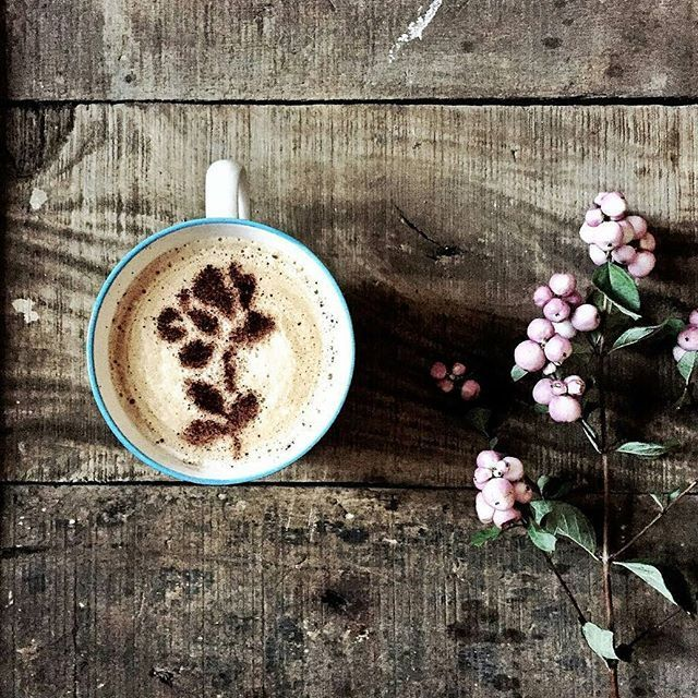 Inspiration of the day - One more coffee and it's the weekend ❤  Beautiful  by @dressingleeloo