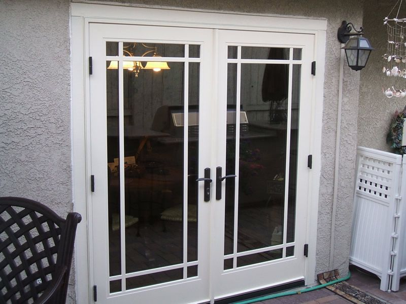Outswing French Patio Doors   French Doors Offer The Glasses In A Wooden  Frame. The Two Doors Are Used To Gain Access To A Page, Because They Tend  To Have
