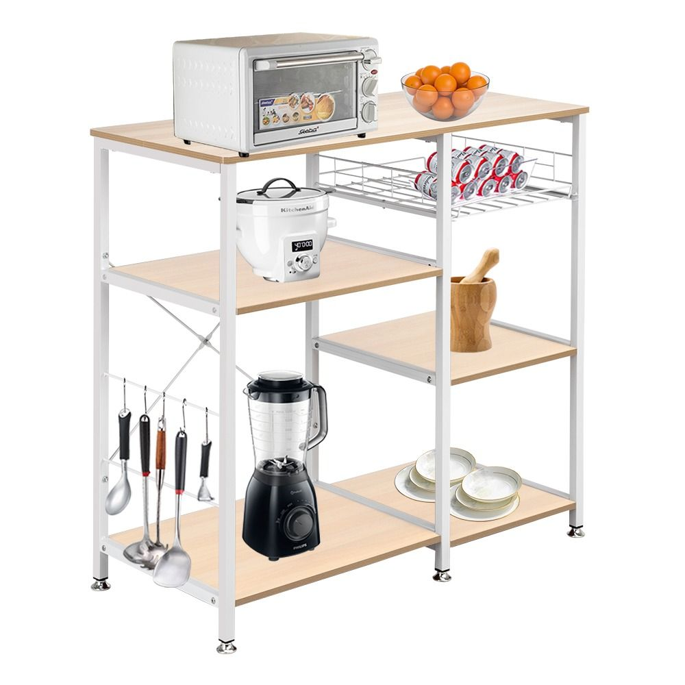 3 Tier Kitchen Baker S Rack Utility Microwave Oven Stand Storage