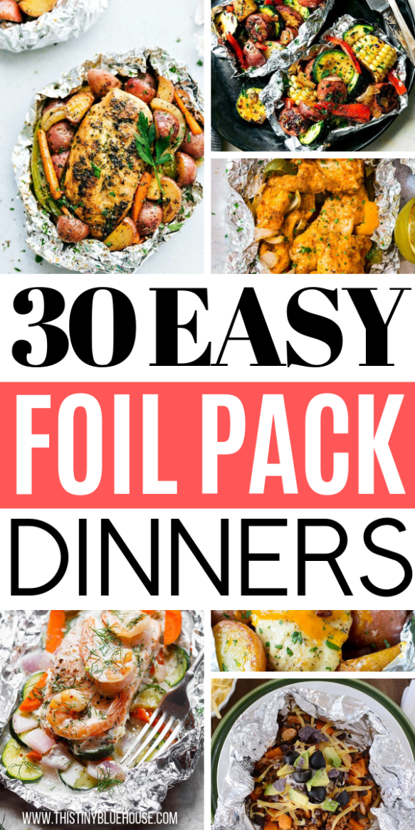 30 Best Delicious Foil Pack Dinners images