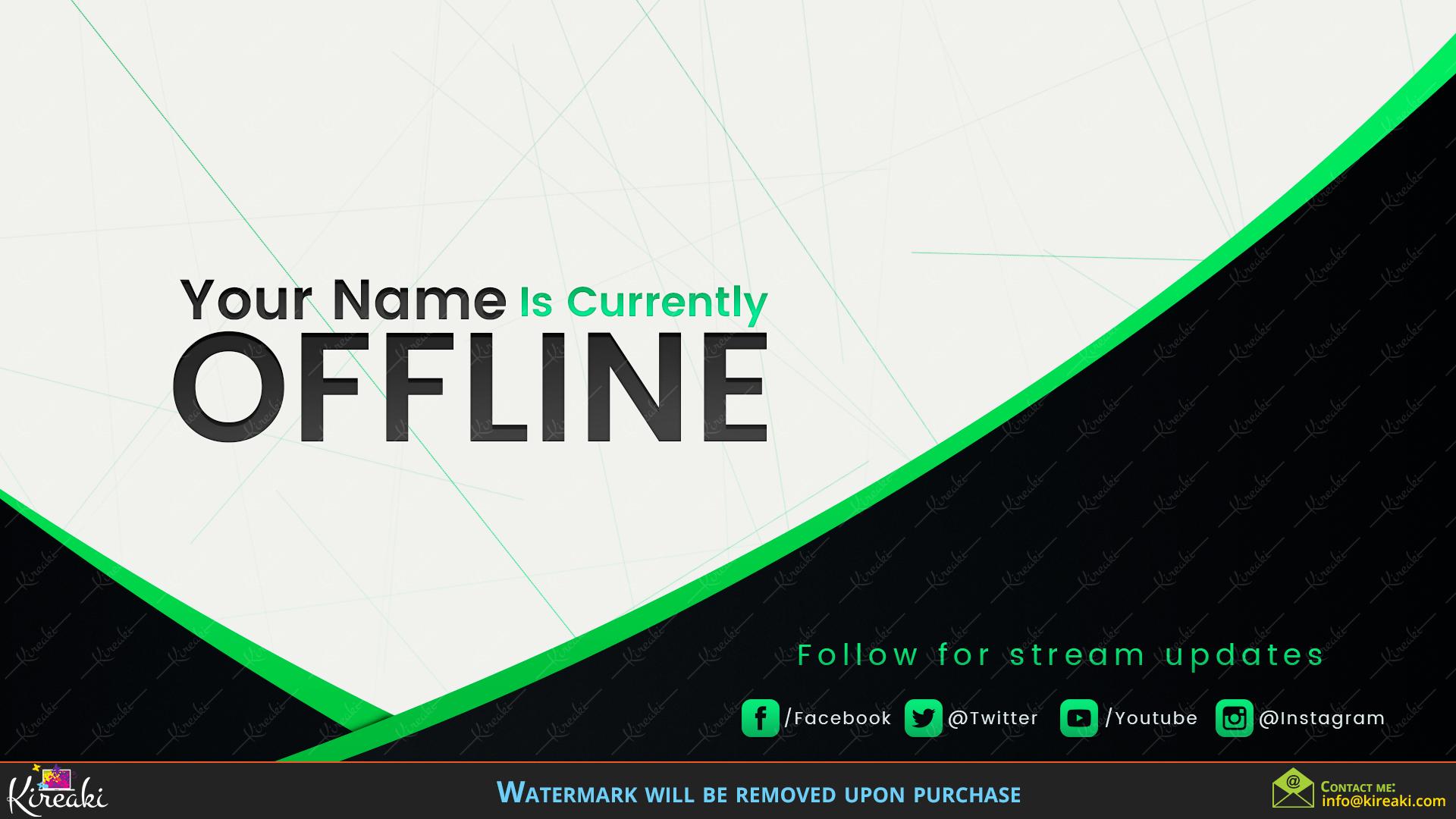 Lines Offline Stream Screen How to remove, Discord, Line