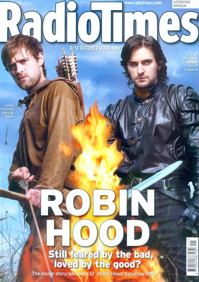 Robin Hood, always trying to do the right thing :) And then there's Guy of Gisbourne, trying to ruin everything! =/ Luv ya Richard!
