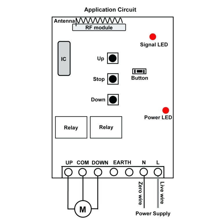 winch controller wiring diagram  electric garage doors