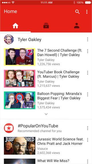 Youtube app Youtuber books