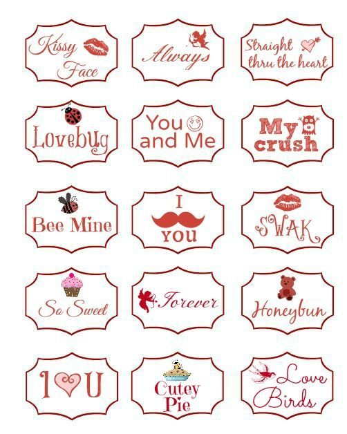 How To Make Mini Valentine S And A Free Printable Worthing Court Templates Printable Free Valentine Messages Valentines