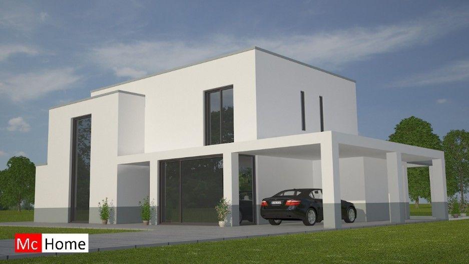 Mc home m moderne eigentijdse kubistische villa in prefab
