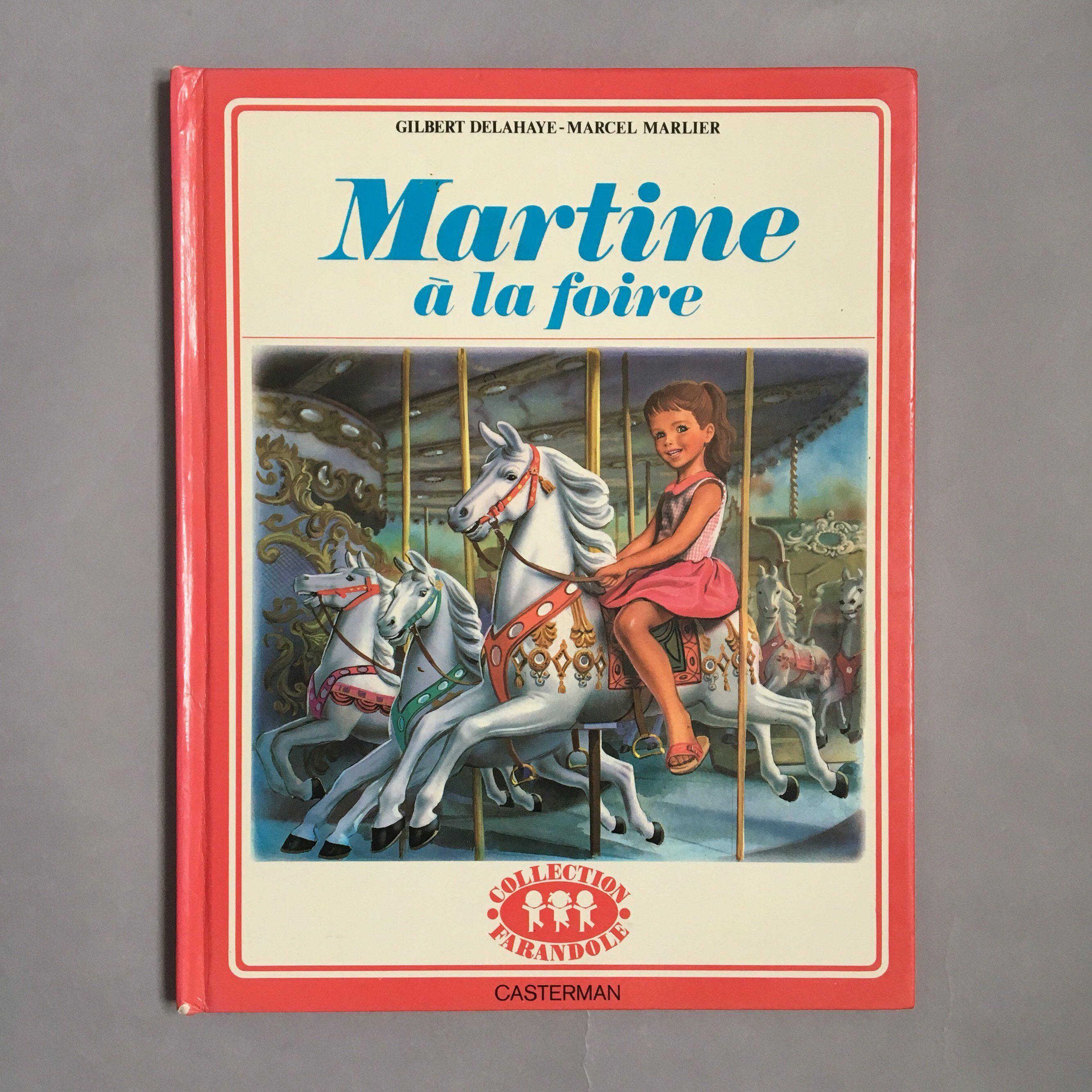 Vintage Francais Livre Pour Enfants Martine A La Foire