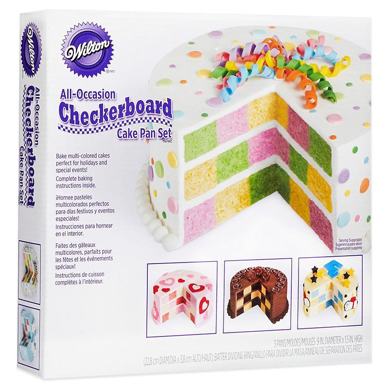 Product image 0 Checkerboard cake, Square cake pans