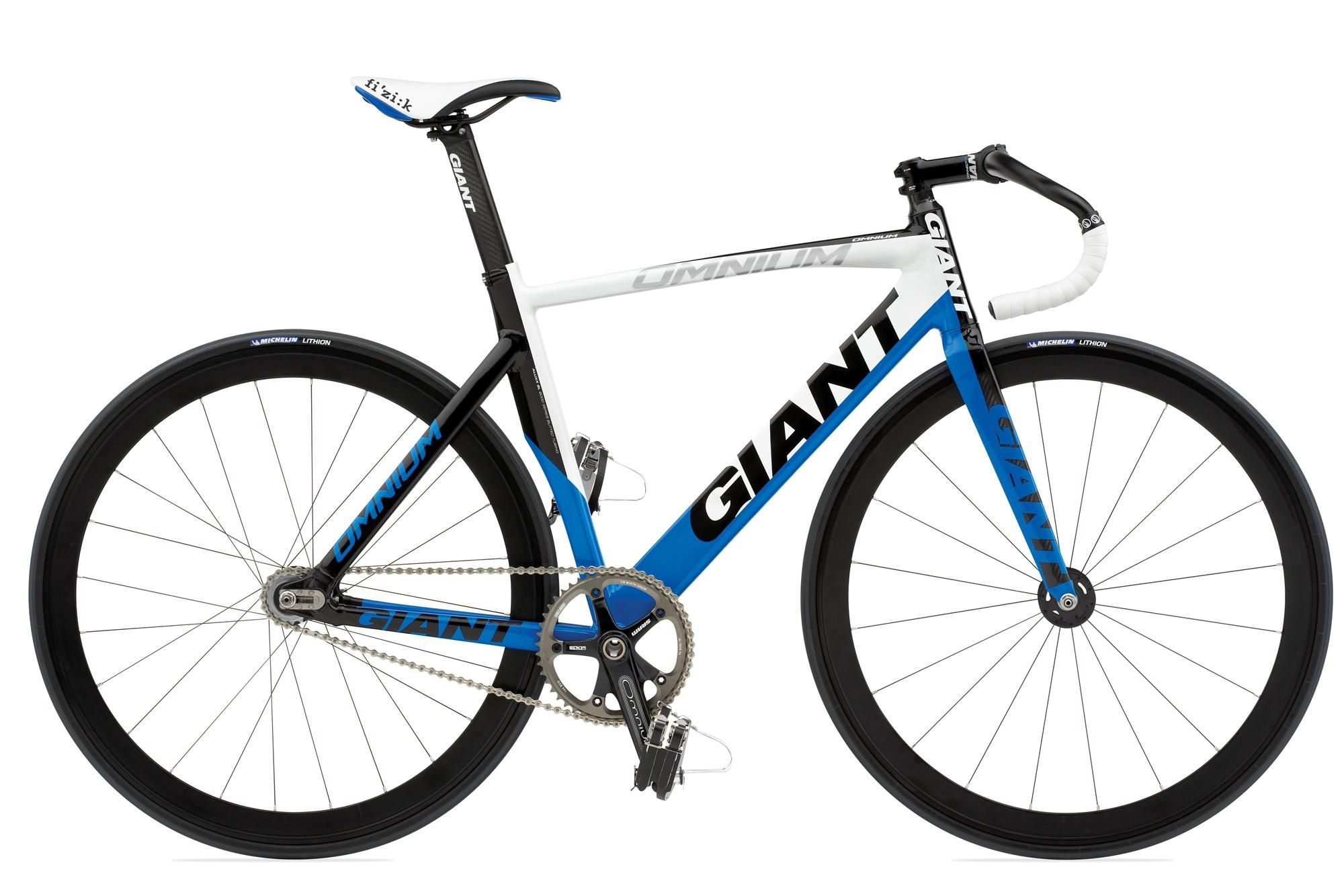 giant omnium Fixie, Azul y blanco, Bicicletas