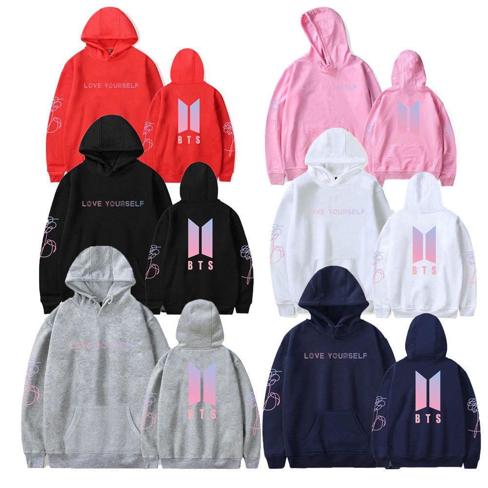 7d8bb4d4ae3f0 Unisex Sweatershirt Kpop BTS In Bloom Sweater Jung Kook Hoodie Bangtan Boys  Gift  Doesnotapply